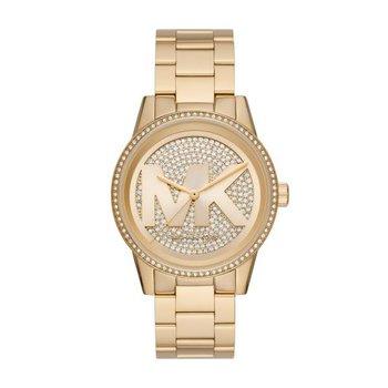 Ritz Pavé Gold-Tone Watch