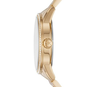 Ritz Pavé Gold-Tone Watch