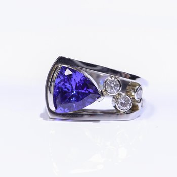 One- Of- A- Kind Tanzanite Ring
