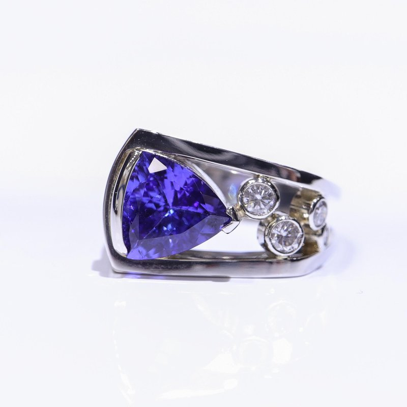 Richardson Signature One- Of- A- Kind Tanzanite Ring