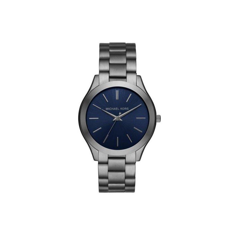 Michael Kors Slim Runway Gunmetal Watch