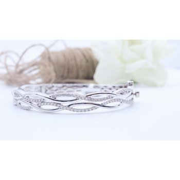 1.00CTW Diamond Bangle