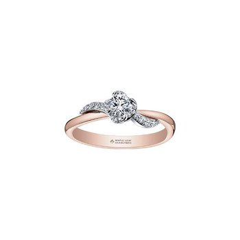 Wind's Embrace Two-Tone Ring