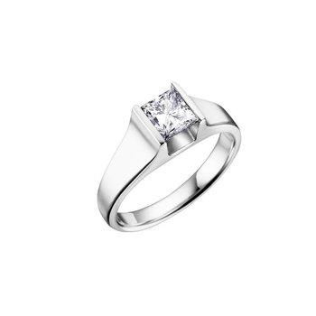 0.25CT Princess-Cut Diamond Ring