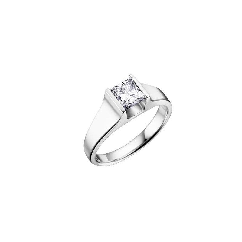 Diamond Days 0.25CT Princess-Cut Diamond Ring