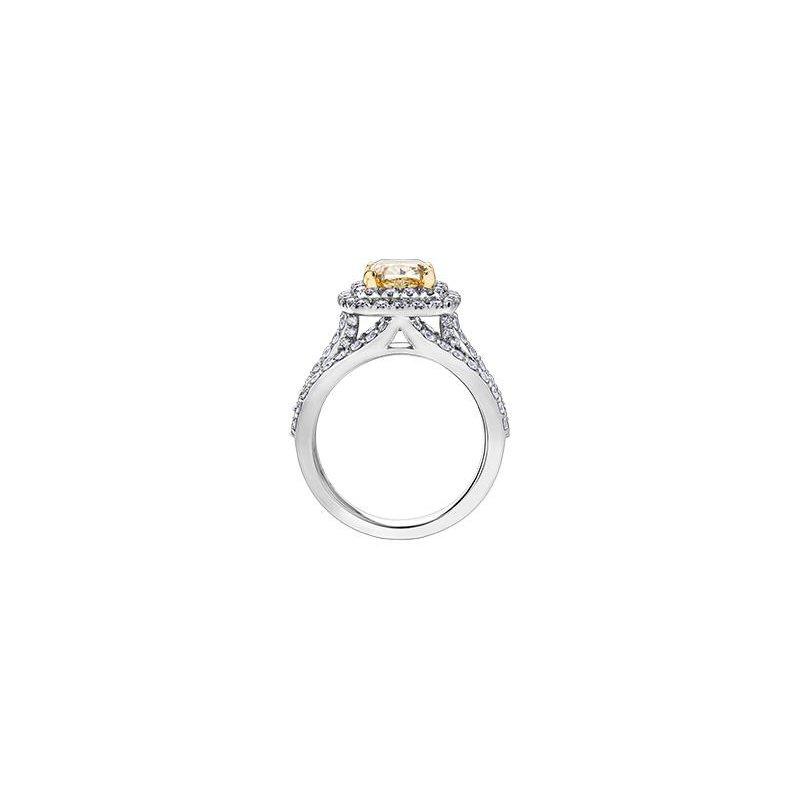Maple Leaf Diamonds Fancy Yellow Diamond Ring