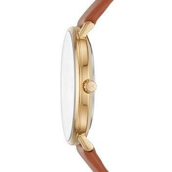 Pyper Brown Leather Strap Watch