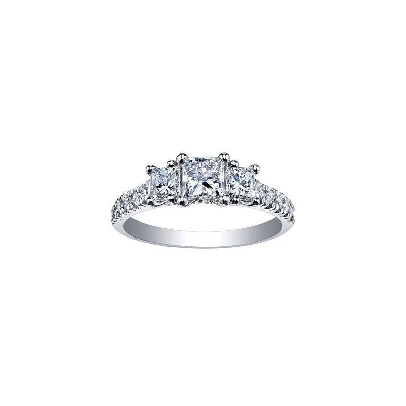 Diamond Days Princess-Cut Diamond Ring