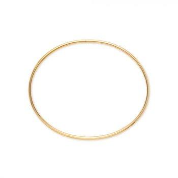 BIRKS ESSENTIALS Yellow Gold Oval Bangle Bracelet