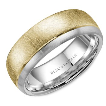 Bleu Royale Men's Wedding Band RLY-007WR75