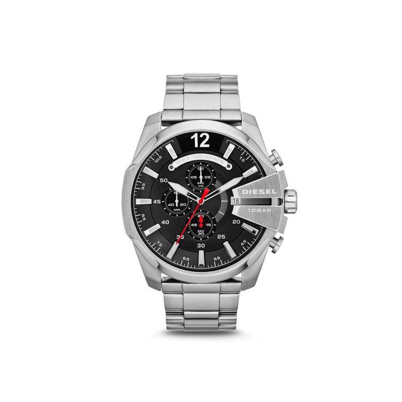 Diesel Mega Chief Stainles Steel Watch