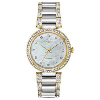 Ladies Eco-Drive Watch-Silhouette Crystal