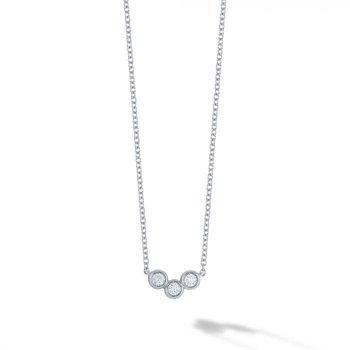 BIRKS ICONIC ® White Gold and Diamond Splash Pendant