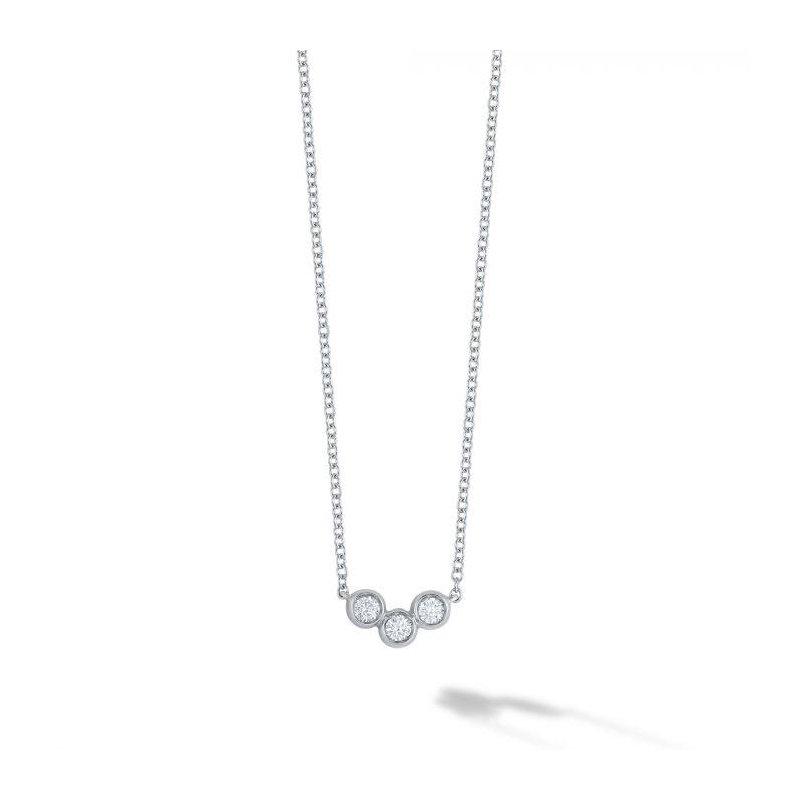 Bijoux Birks BIRKS ICONIC ® White Gold and Diamond Splash Pendant