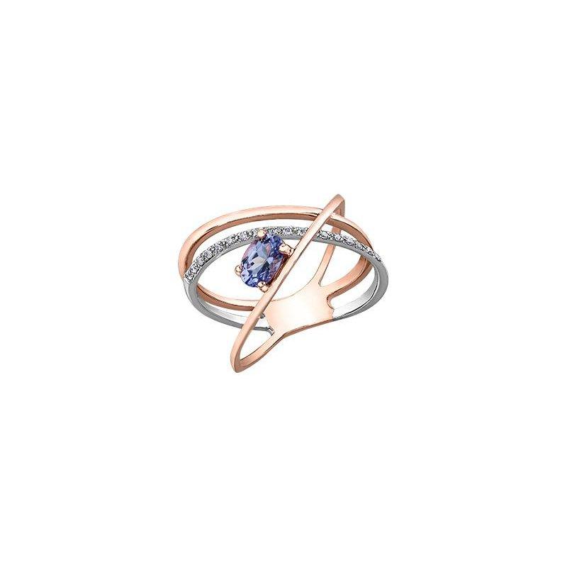 Diamond Days Tanzanite & Diamond Ring