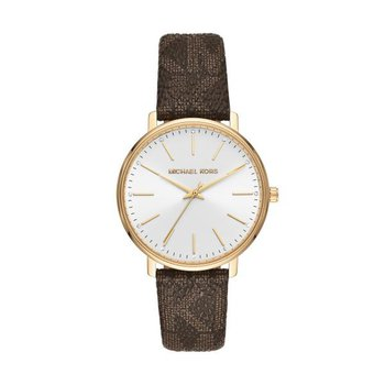 Pyper Logo & Gold-Tone Watch