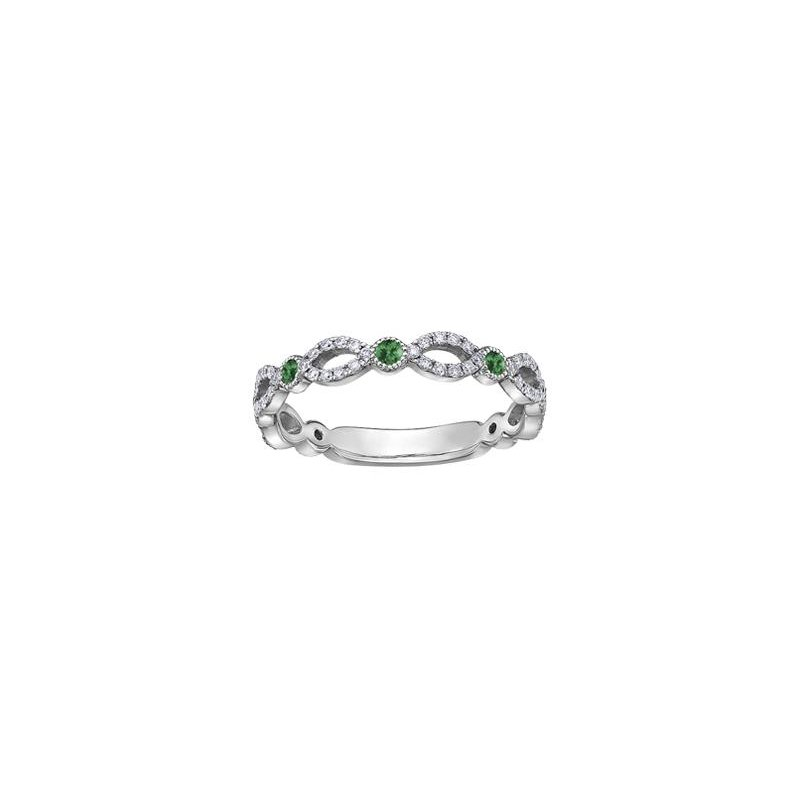Diamond Days Emerald & Diamond Ring