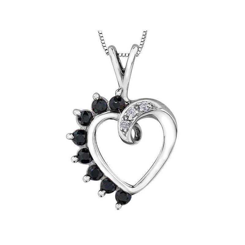 Forever Jewellery Sapphire Heart Pendant