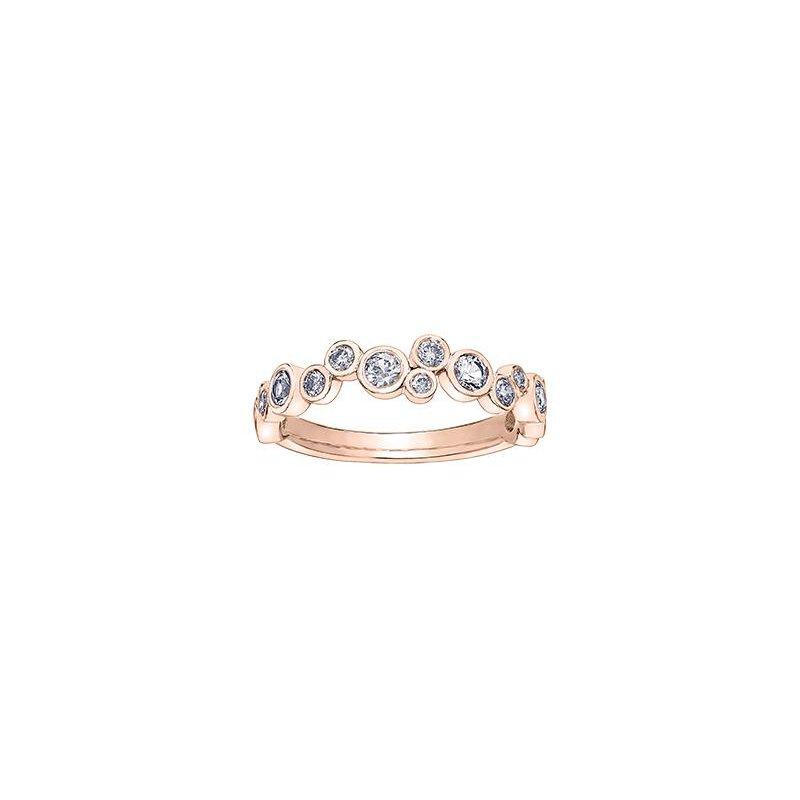 Diamond Days Bubbles Diamond Stacking Ring
