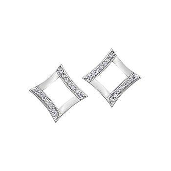 Diamond-Shaped Studs