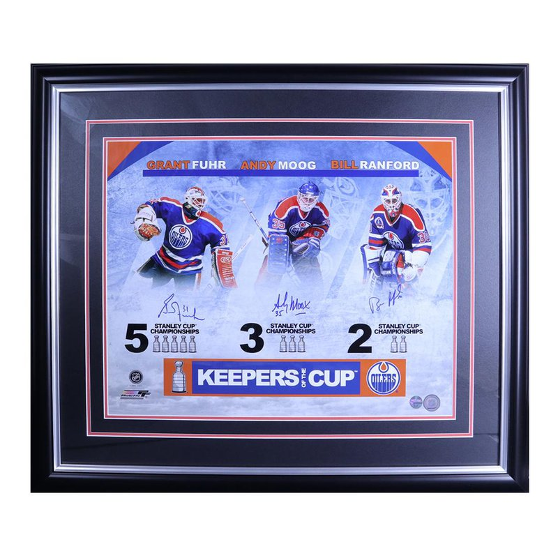 "RJ Sports "" Keepers of the Cup "" Moog Fuhr Ranford"