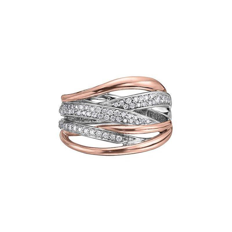 Diamond Days Wide Diamond Ring