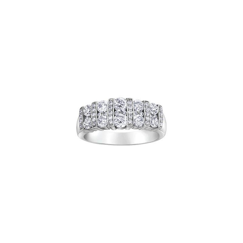 Diamond Days White Gold Diamond Band