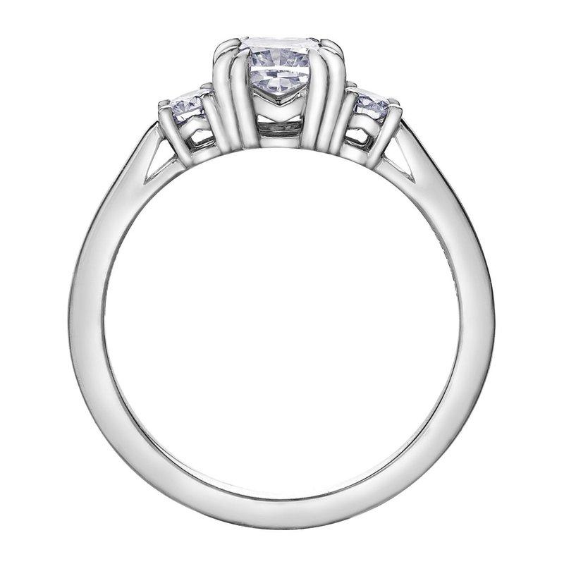 Maple Leaf Diamonds 1.00CT Cushion Cut Diamond Ring
