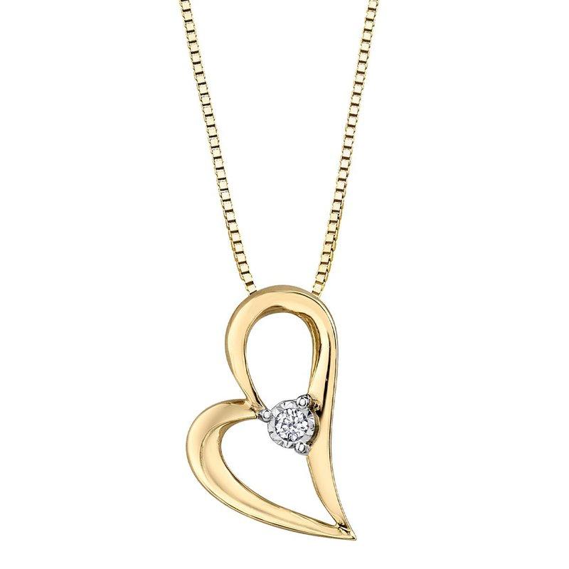 Corona Heart Pendant