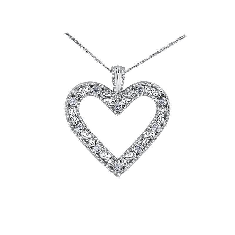Diamond Days Classic Heart Pendant