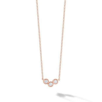 BIRKS ICONIC ® Rose Gold and Diamond Splash Pendant