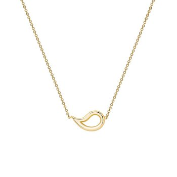 PÉTALE- Yellow Gold Necklace