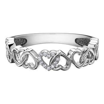 Interlocking Heart Ring
