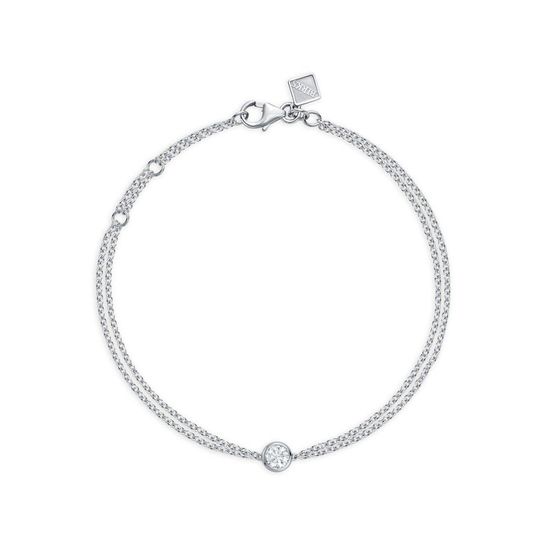 BIRKS SPLASH- Large Bezel Diamond Bracelet