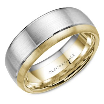 Bleu Royale Men's Wedding Band RYL-003W85