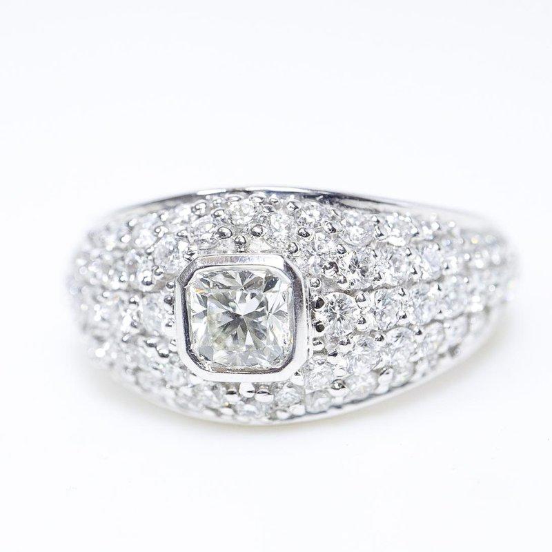 Richardson Signature Low Set Ladies Engagement Ring