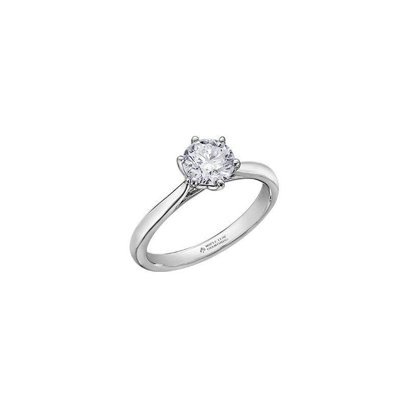 Maple Leaf Diamonds 2.08CT Solitaire Ring