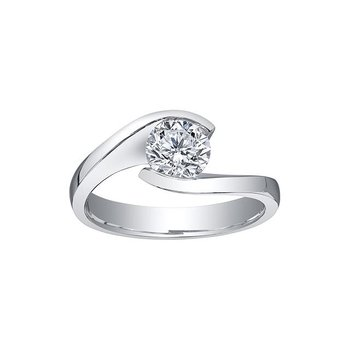 0.70CT Solitaire Diamond Ring