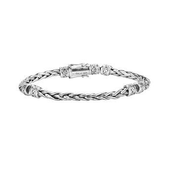 Wheat Link Hinged Bracelet