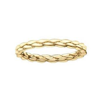 Yellow Gold Braided Ring