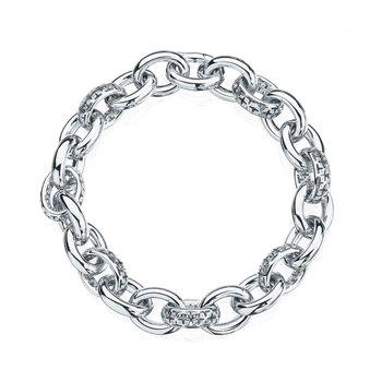 MUSE-Silver Link Bracelet