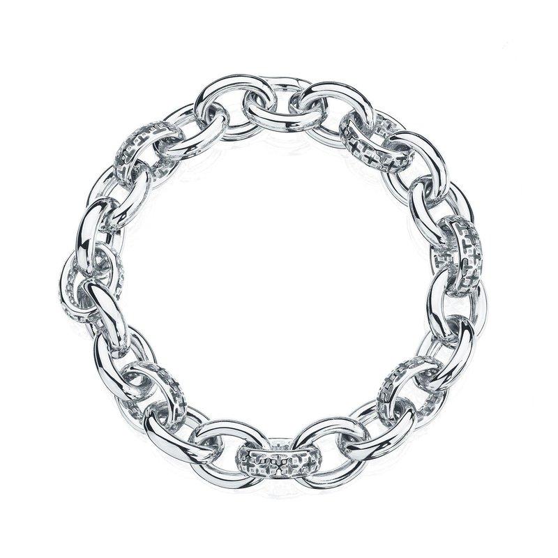 Bijoux Birks BIRKS MUSE Silver Link Bracelet