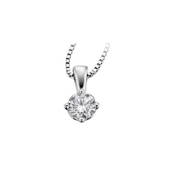 Canadian 0.17CT Diamond Solitaire Pendant
