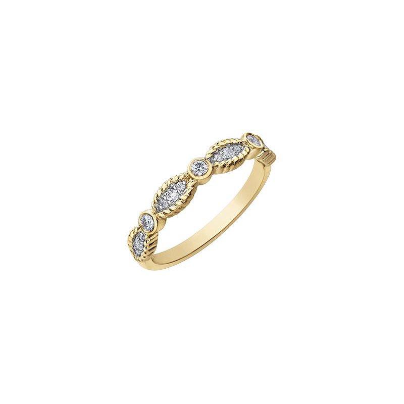 Diamond Days Yellow Gold & Diamond Ring