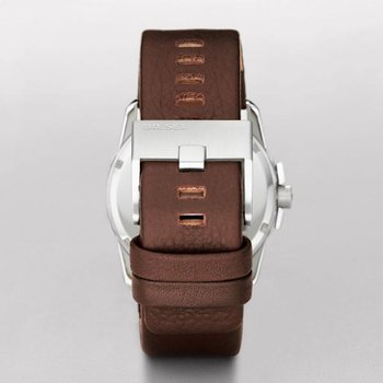 Master Chief Brown Leather Strap Watch
