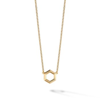Yellow Gold  Bee Chic Pendant