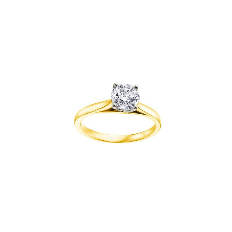 Maple Leaf Diamonds 0.25CT Diamond Solitaire Ring