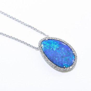 Opal Doublet Necklace