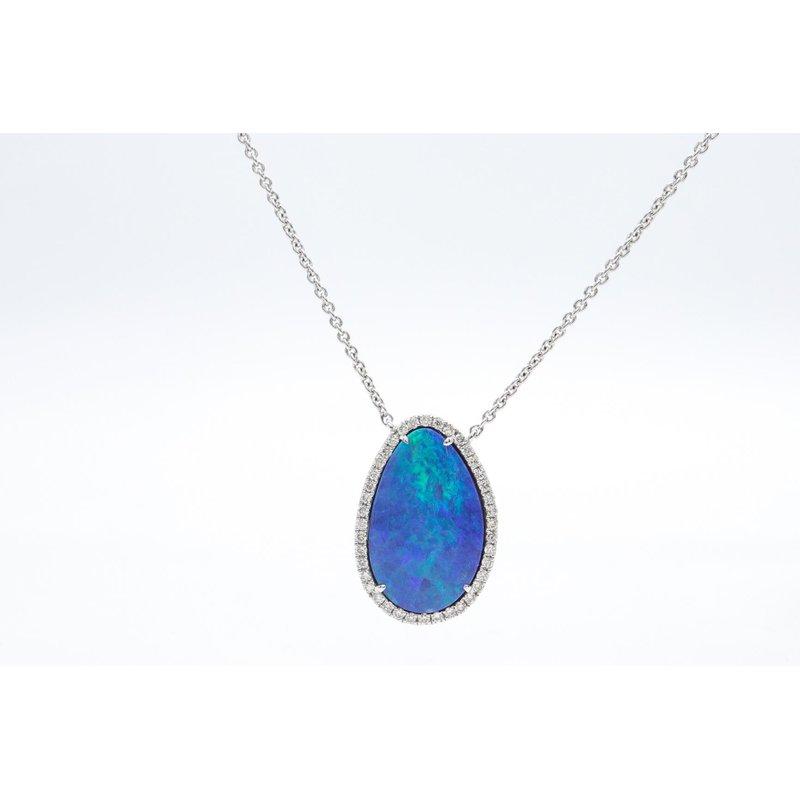 Richardson Signature Opal Doublet Necklace