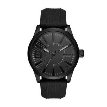 Rasp Black Silicone Strap Watch